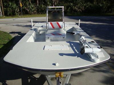 NICE - 2006 STOTT CRAFT 1796 SKIFF CC BAY FISHING BOAT 75 HP EVINRUDE E-TEC