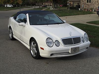 Mercedes-Benz : CLK-Class CLK430 Convertible 2003 mercedes benz clk 430 base convertible 2 door 4.3 l