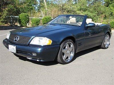 Mercedes-Benz : SL-Class 500SL 1999 mercedes benz sl 500 77 k miles well maintained california car