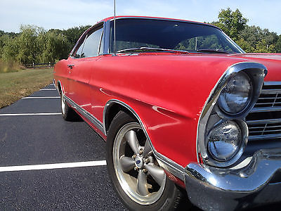 Ford : Galaxie 500 1967 ford galaxie 500 2 door fastback survivor v 8