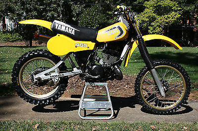 Yamaha : YZ 1981 yamaha yz 465 ahrma pvmx restored and ready to race 2200 obo