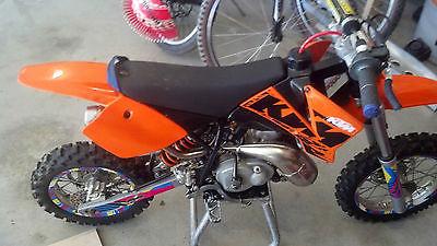 KTM : SX 2007 ktm 50 sx sr 50 cc dirtbike
