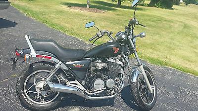 Honda : Nighthawk 1983 honda nighthawk 550 sc black
