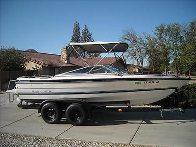 1984 Bayliner Bowrider 18' Open Bow w/Trailer