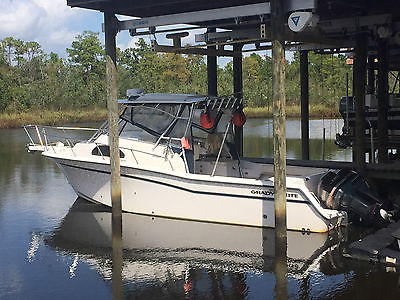 2001 Grady White 300 Marlin with twin Yamaha 250hp OX66s in excellent condition