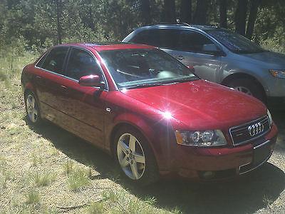 Audi : A4 Base Sedan 4-Door 2004 audi a 4 base sedan 4 door 3.0 l