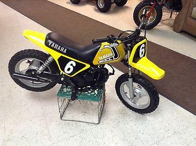 Yamaha : PW 1981 yamaha yzinger 50 yz ahrma vintage mx motocross 50 enduro race minibike pw