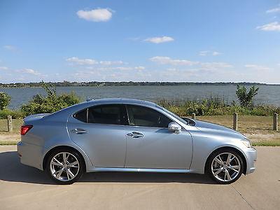 Lexus : IS IS 250 Lexus IS 250 Breakwater Blue Fully Loaded Low Milage 26K (Please make Offers?)
