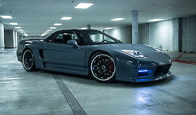Acura : NSX Base Coupe 2-Door 700 whp custom color show stopping turbo widebody acura nsx one of a kind