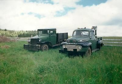 Dodge : Other weapons carrier & tow truck 1942 dodge weapons carrier 1950 ford f 3 tow truck sold separately
