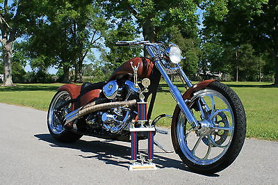 Custom Built Motorcycles : Chopper Harley Davidson Titled Custom Built Chopper Motorcycle