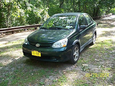 Toyota : Echo Base Sedan 4-Door gas saver,low miles 81k, auto 2nd owner runs nice ice cold air 2003 Toyota Echo