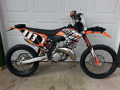 KTM : Other STREET LEGAL 2007 KTM 144 - ONLY 30 hours - DUAL SPORT ENDURO 150 250 300 450