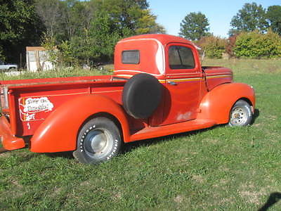 Ford : Other Pickups no trim 1940 ford pickup great rat rod project clear title w vin