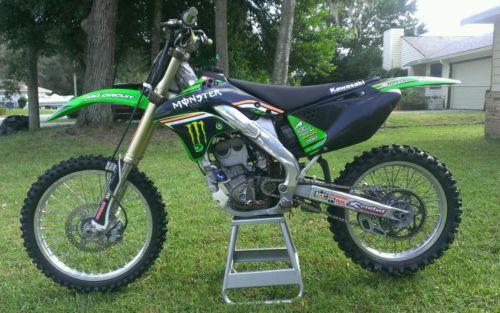 Kawasaki : KX 2006 kx 250 f pro circuit monster energy