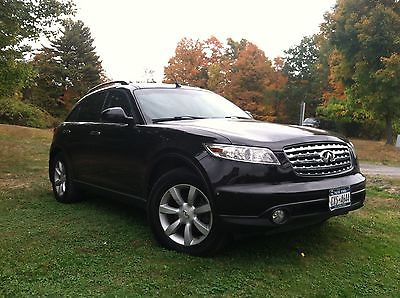 Infiniti : FX 35 - Touring Package 2005 infiniti fx 35 awd w touring package moving out of country must sell fast