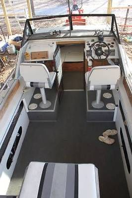 1989 Sylvan Offshore Cuddy w/Trailer -- All aluminum (1800 lbs)