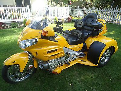 honda : gold wing 2001 honda gl 1800 motorcycle champion trike conversion bushtec  trailer