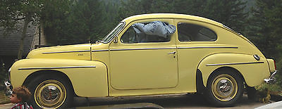 Volvo : Other PV 544 B18 1962 classic volo pv 544 b 18 yellow fully restored