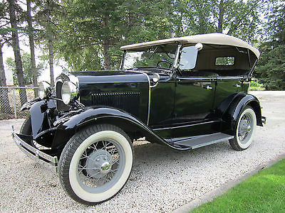 Ford : Model A Phaeton Convertible 1930 ford model a phaeton 4 door convertible