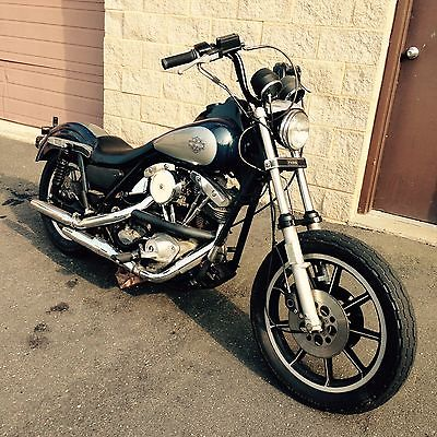 Harley-Davidson : FXR Fxrs shovelhead 1340 5 speed bobber Harley Fxr