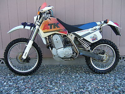 Other Makes : ATK 650 Dual Sport Trick! ATK 650 Street Legal TITLED Vintage MX MotoCross Enduro Desert Dual Sport