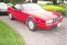 Cadillac : Allante with hardtop 1991 cadillac allante