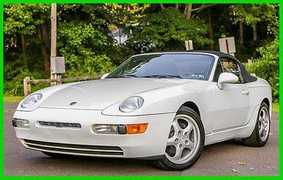 Porsche : 968 Base Convertible 2-Door 1995 porsche 968 6 speed manual convertible 49 k miles carfax