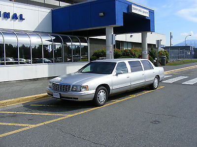 Cadillac : DeVille 6dr CadillacDeVille 6 door limo