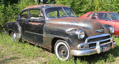 Chevrolet : Other FLEETLINE 1951 chevrolet fleetline 2 door fastback project or parts 1949 1950 1952 51 52 49