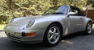 Porsche : 911 Carrera 4 Convertible 2-Door 1997 porsche 911 c 4 cabriolet