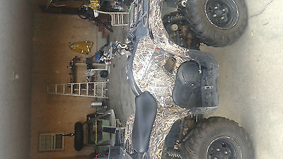 Yamaha Grizzly 700 Ducks Unlimited Edition