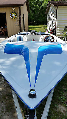 1983 Appache Jet Boat.   Major restoration.   Water ready.  V-8 chevy  FAST!!