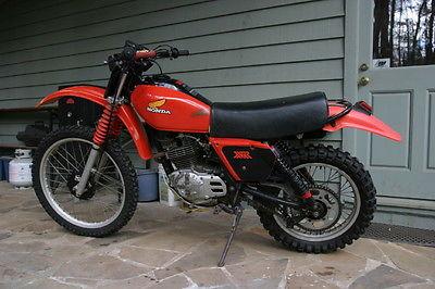 Honda : XR 1980 honda xr 250