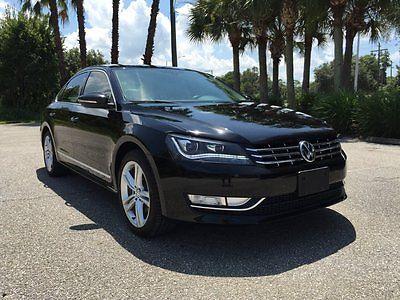 Volkswagen : Passat TDI SEL Sedan 4-Door 2012 volkswagen passat tdi sel diesel xenon led navigation tint bluetooth 45 mpg