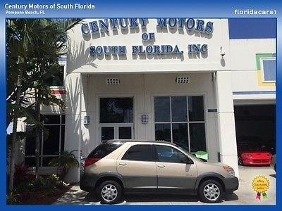 Buick : Rendezvous NIADA CERTIFIED WARRANTY LOW MILES CARFAX CLEAN Carfax Clean CX Florida SUV Low Miles FWD