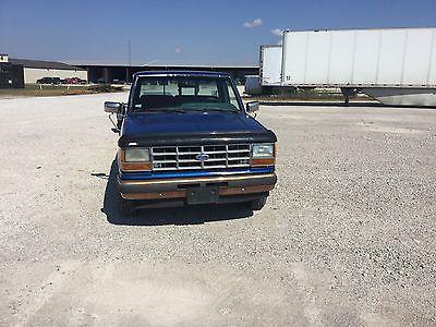 Ford : Ranger XLT 1989 ford ranger xlt standard cab pickup 2 door 2.9 l