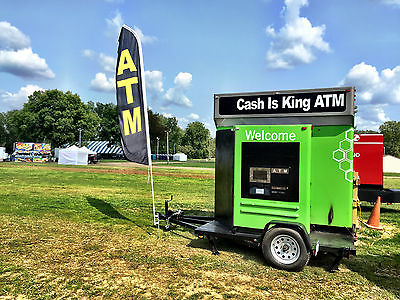 ATM Trailer Kiosk - Mobile Business - Rent or Own - Money Machine - Cash Is King