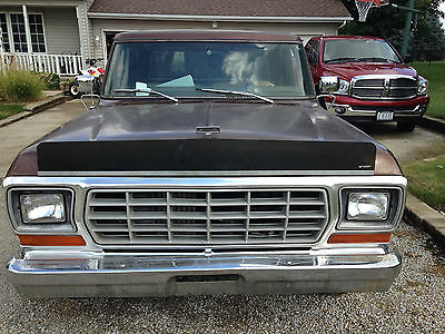 Ford : F-150 1979 ford f 150 ranger extended cab pickup 2 door 460 ci