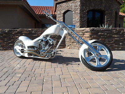 Custom Built Motorcycles : Chopper WAR EAGLE PRO STREET CHOPPER-127ci 140HP ULTIMA EL BRUTO ENGINE-AIR SUSPENSION