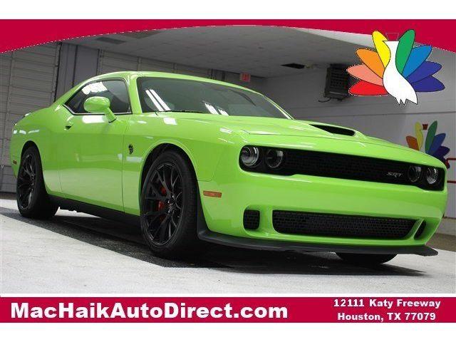 Dodge : Challenger SRT Hellcat SRT Hellcat Manual Coupe 6.2L Supercharged Rear Wheel Drive Active Suspension