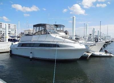 1996 Carver Mariner 330 Yacht.. Beautiful home on water.. L@@K!