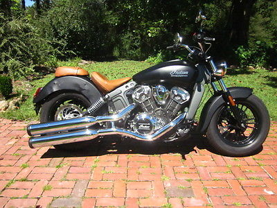Indian : Scout 2015 indian scout cruiser bike 1.2 l 6 speed runs damaged project great deal nice