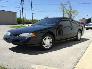 Ford : Thunderbird SUPER COUPE  1994 ford thunderbird black w only 11 k miles