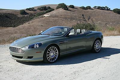 Aston Martin : DB9 Convertible 2-door Excellent, low mileage, California Sage, 2007 Aston Martin DB9 Volante