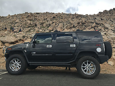 Hummer : H2 Luxury Sport Utility 4-Door 2009 hummer h 2 supercharged