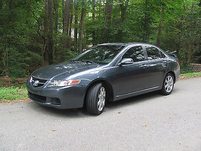 Acura : TSX TSX 2004 acura tsx automatic runs good but will need engine work soon p 0341