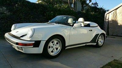 Porsche : 911 speedster 1989 porsche 911 speedster original owner 20 k miles rare