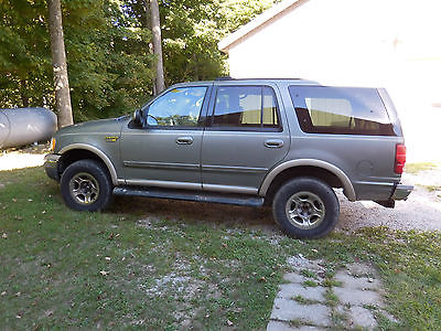 Ford : Expedition 1999 ford expedition eddie bauer edition 4 wd leather loaded runs
