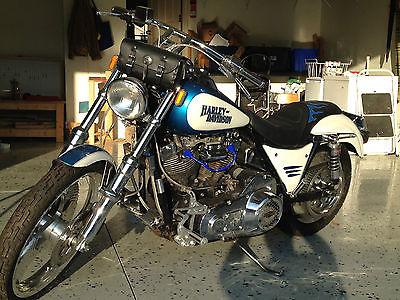 Harley-Davidson : FXR 1982 harley davidson fxr custom